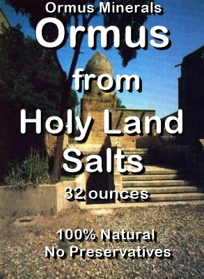 Ormus Minerals -Ormus from Holy Land Salts