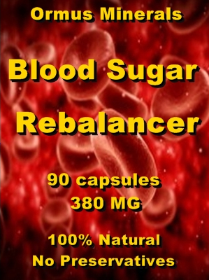 Ormus Minerals -Blood Sugar REBALANCER