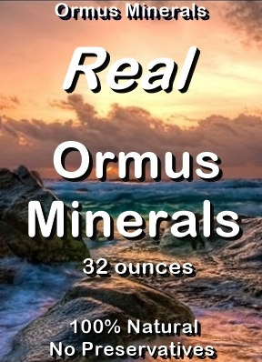 Ormus Minerals -Real Ormus Minerals